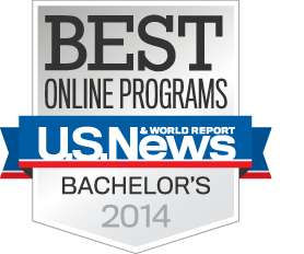 U.S.News & World Report Best Online Programs bachelor's 2014