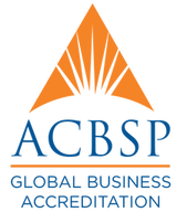 ACBSP Global Business Accreditation badge